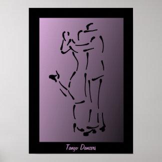 The Tango Dancers Poster