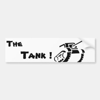 The Tank Bumper Sticker
