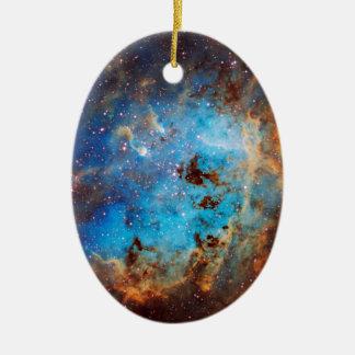 The Tapdole Nebula Ceramic Oval Decoration