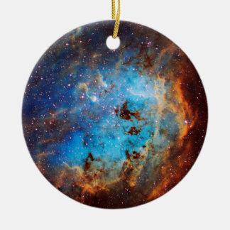 The Tapdole Nebula Round Ceramic Decoration