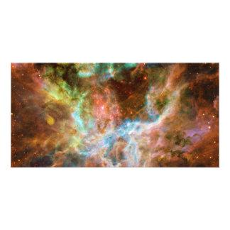 The Tarantula Nebula 30 Doradus NGC 2070 Customized Photo Card