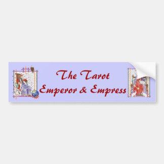 The Tarot Empress Bumper Sticker