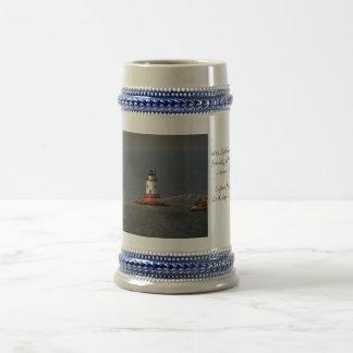 The Tarrytown Lighthouse Stein Coffee Mug