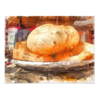 The tasty Bhatura Photographic Print