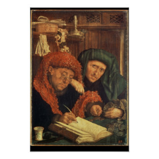The Tax Collectors, 1550 Poster