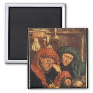 The Tax Collectors, 1550 Square Magnet