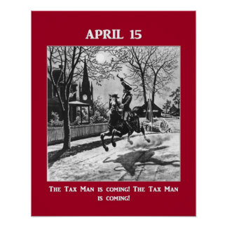 The Tax Man Is Coming! Poster