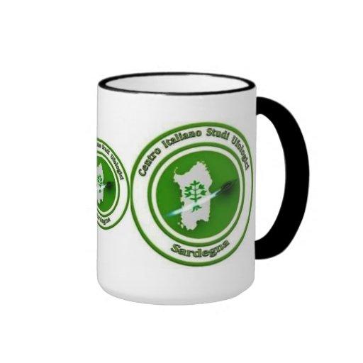 The tazza idiot it logo LED CISU SARDEGNA Coffee Mugs