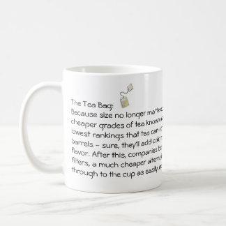The Tea Bag Basic White Mug
