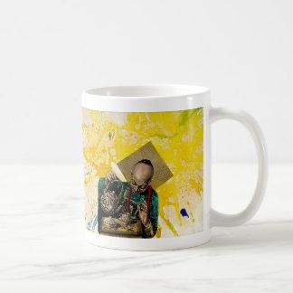 The Tea Man by Michael Moffa Basic White Mug