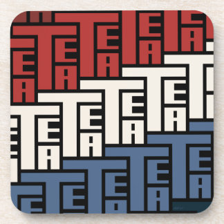 The Tea Party Beverage Coasters
