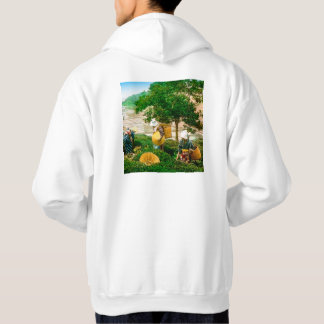 The Tea Pickers of Old Japan Vintage Hand Colored Sweatshirts