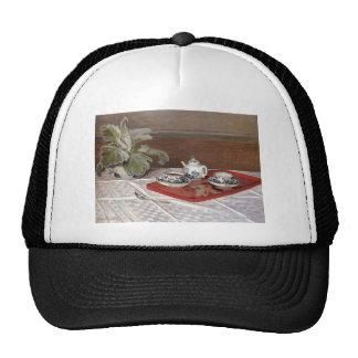 The Tea Set by Claude Monet Trucker Hat