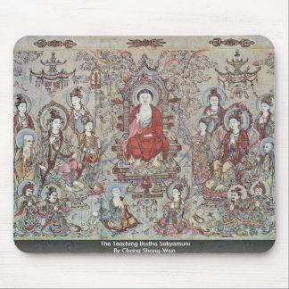The Teaching Budha Sakyamuni By Chang Sheng-Wen Mousepads