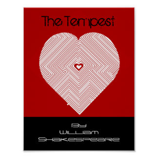 The Tempest by William Shakespeare Poster Promo