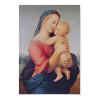 The 'Tempi' Madonna, 1508 Poster