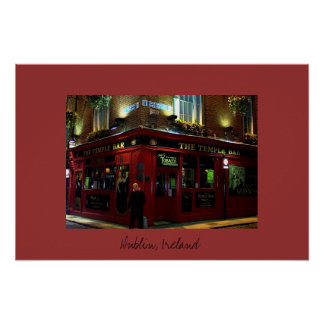 The Temple Bar Poster