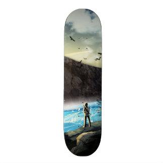The Temple Custom Skateboard