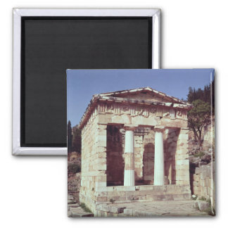 The Temple of the Treasures of the Athenians Magnet
