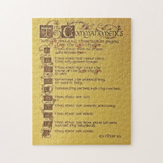 The Ten Commandments Jigsaw Puzzle
