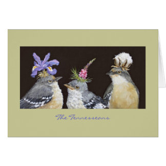 The Tennesseans (mockingbird card) Card