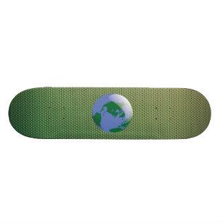 The Terrestrial Freewill Project Custom Skateboard
