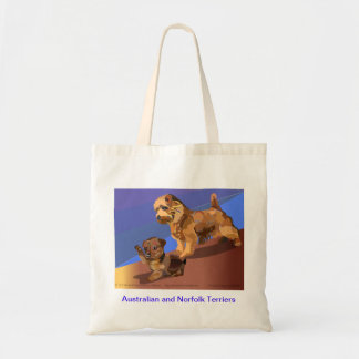 The Terrier Terror Budget Tote Bag
