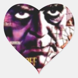 The Terror Heart Sticker