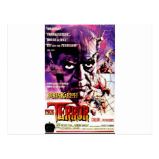 The Terror Postcard