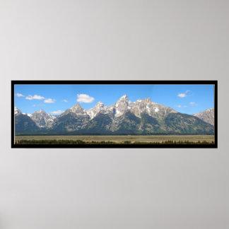 The Teton Mountains Posters