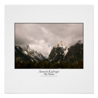 The Tetons Posters