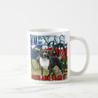 The Texas Outfitters Pitbull Come and Take It Mug