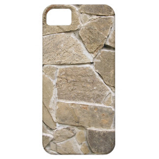 The texture of the walls of rough stones iPhone 5 cases