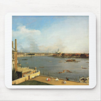 The Thames and the City of London from Richmond Mouse Pad