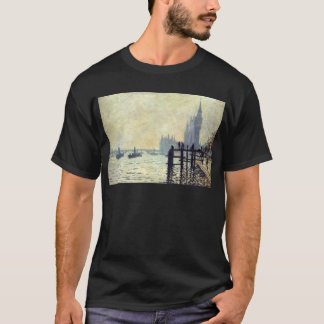 The Thames below Westminster by Claude Monet T-Shirt