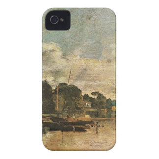 The Thames near Walton Bridges by William Turner Case-Mate iPhone 4 Case