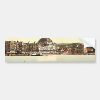 The theatre and Utoquay, Zurich, Switzerland class Bumper Stickers