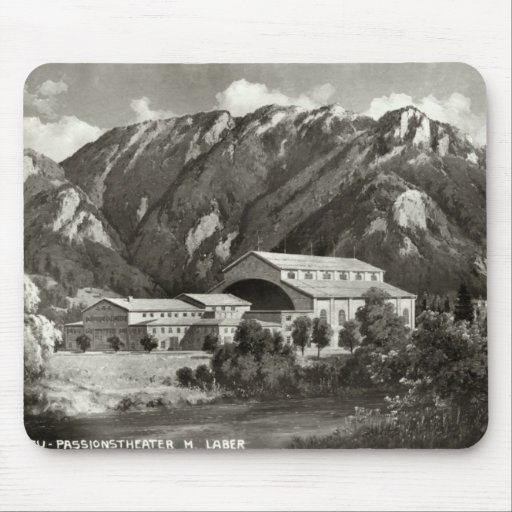 The Theatre at Oberammergau, 1930 Mouse Pad
