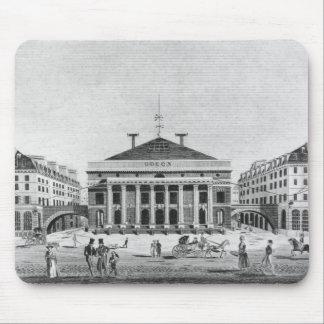 The Theatre de l'Odeon, 1830 Mouse Pad