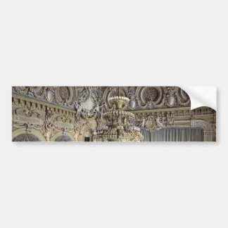 The theatre interior Monte Carlo Riviera classi Bumper Sticker