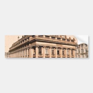 The theatre, Lillie, France classic Photochrom Bumper Sticker
