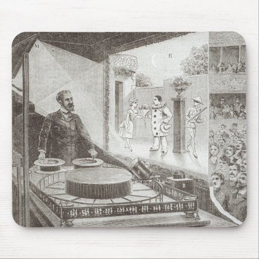The 'Theatre Optique' and its inventor Mousepads