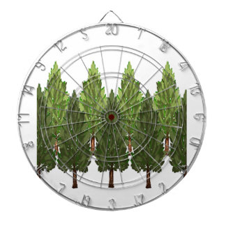 THE THICK FOREST DARTBOARD