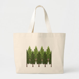 THE THICK FOREST LARGE TOTE BAG