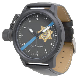 The Thin Blue Line Deputy Sheriff Watch