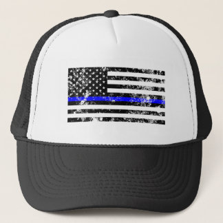 The Thin Blue Line Trucker Hat