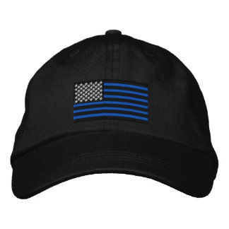 The Thin Blue Lines Embroidered Cap Embroidered Baseball Cap