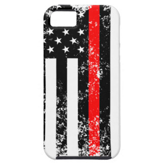 The Thin Red Line iPhone 5 Case