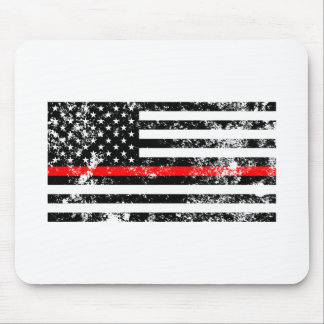 The Thin Red Line Mouse Pad