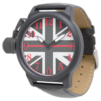 The Thin Red Line. Union Jack. British Army Watch